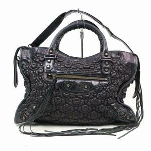 Balenciaga  Cinched Leather The City 2way 870339